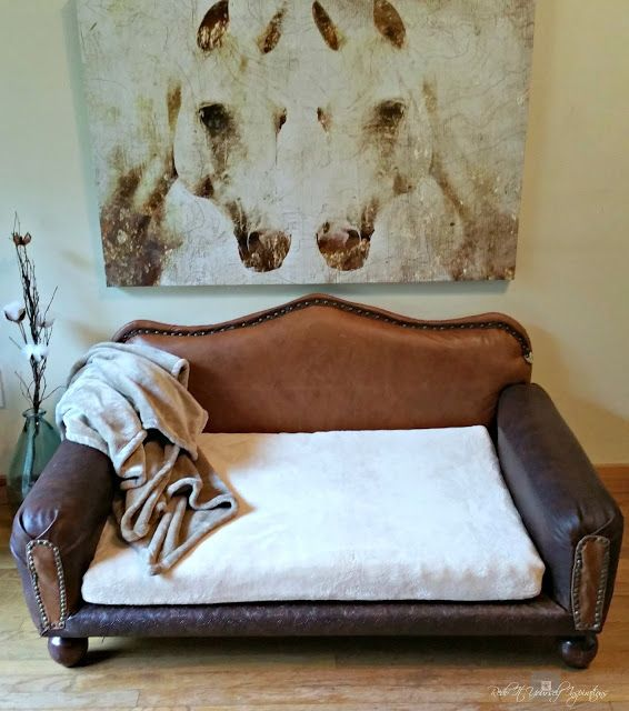How to: DIY Dog Sofa | Redo It Yourself Inspirations : DIY Leather ...