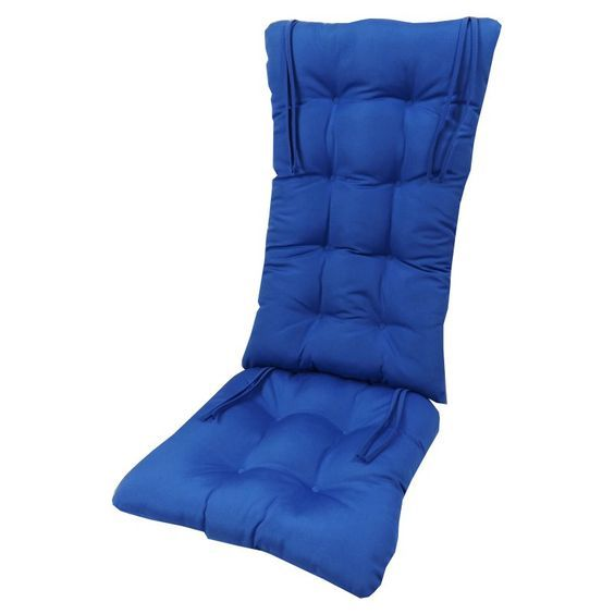 Cushion Pros 2 Piece Sunbrella Tufted Rocker Cushion Set
