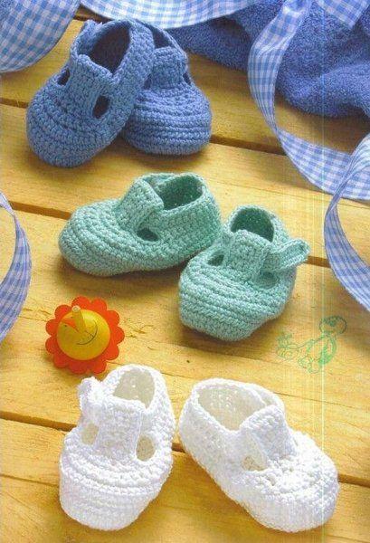 Chaussons pour bébé et sa grille gratuite ! - Modèles pour Bébé au Crochet