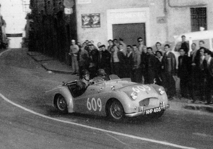 car narrow street mille miglia - Google Search