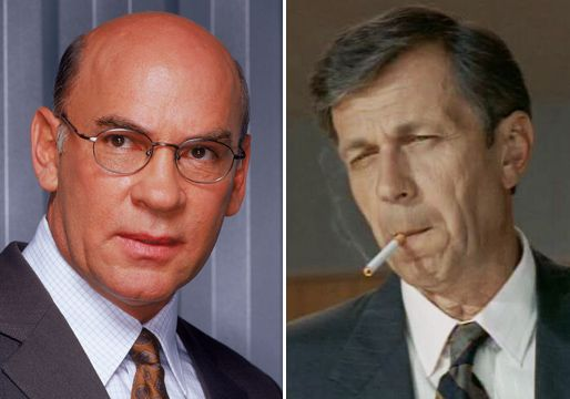 The X-Files' Revival Cast — Walter Skinner, Cigarette-Smoking Man ...