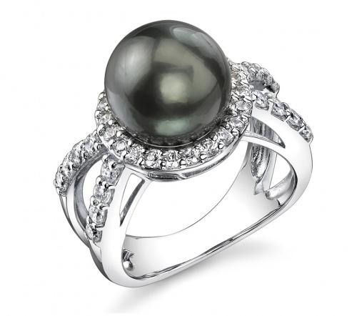 Tahitian Pearl Ring with diamonds.... mmmm! jewelry