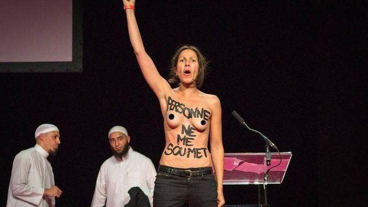 VOTRE AVIS - D'habitude très agacés par les Femen, nos internautes estiment qu'elles ont cette fois-ci bien choisi leur cible au salon de la femme musulmane.
