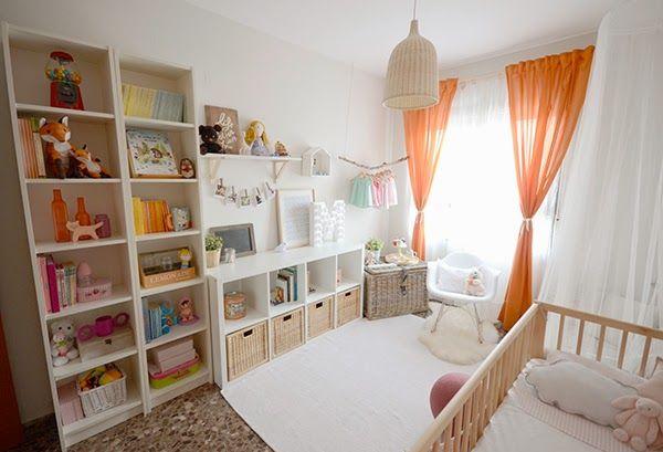 Baby girl\'s room decor / Habitación de bebé niña. La chica de la ...