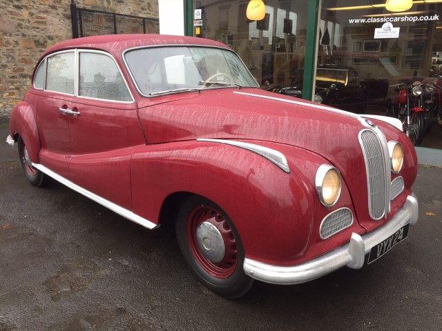 1951 BMW 501. Saloon.