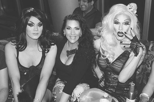 Manilla Luzon, Michelle Visage, Sharon Needles (season 4)