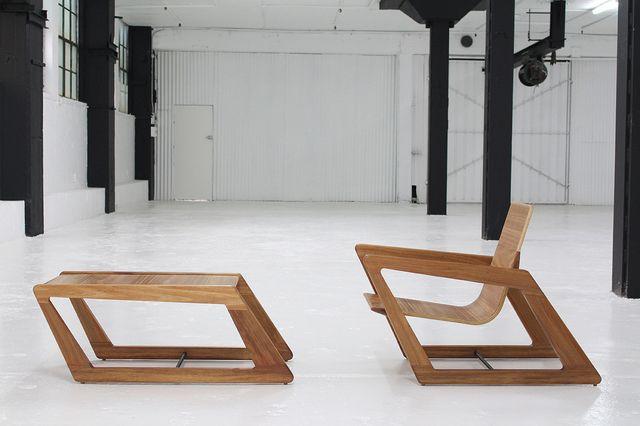 PSA2 by David Cummins - Armchair, Sustainable, Handcrafted, Contemporary, Tasmanian Blackwood, Blackbutt