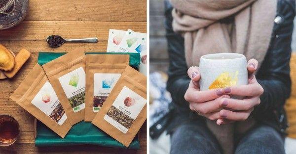 La box thés et tisanes Colors Of Tea - une idée de cadeau à la dernière minute