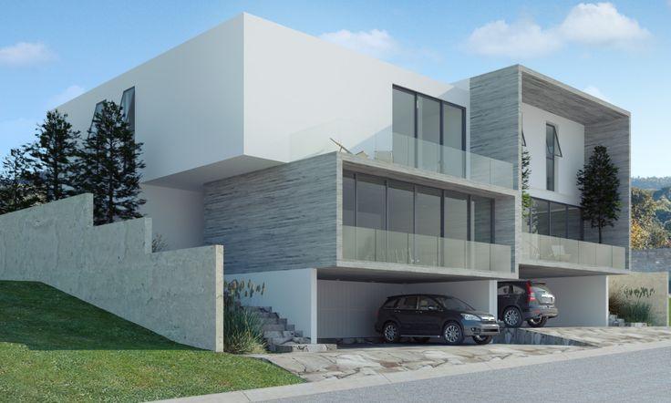 Casa nueve casa diez los robles residencial en for Casa moderna zapopan