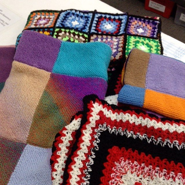 Thank you Tight Knit World from Bentleigh for this donation of beautiful blankets!