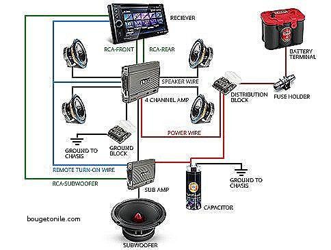 Car Sound System Diagram Sound System Car Truck Audio System Car Audio Systems