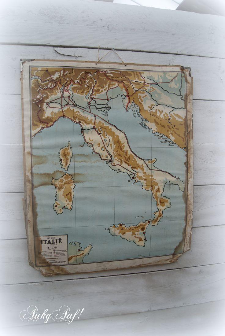 Oude landkaart...AukgAaf!
