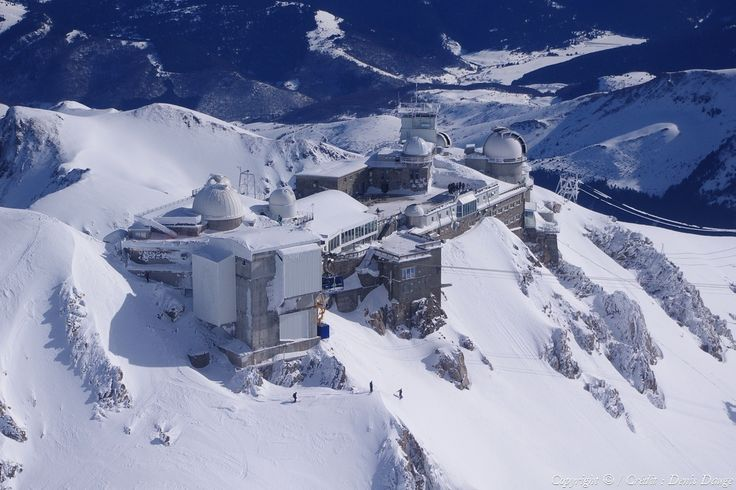 ✈️ Photo aérienne de : Pic du Midi-de-Bigorre - Hautes-Pyrénées (65)