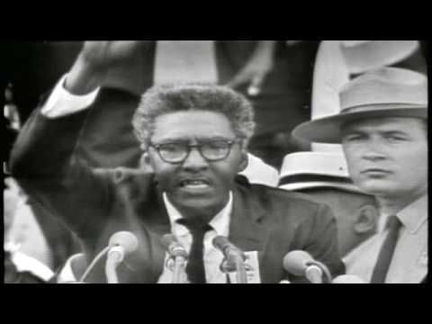 Brother Outsider (2003) A profile of civil rights leader Bayard Rustin, a gay, black activist who worked behind the scenes of the civil rights movement, most notably as the organizer of the 1963 March on Washington. And other social justice videos!