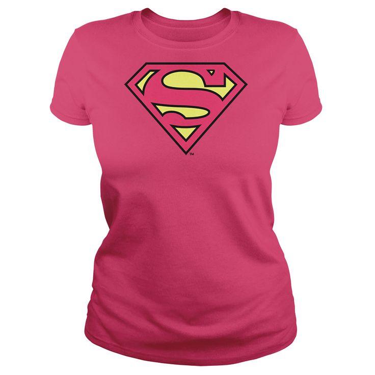 Pink superman hoodie