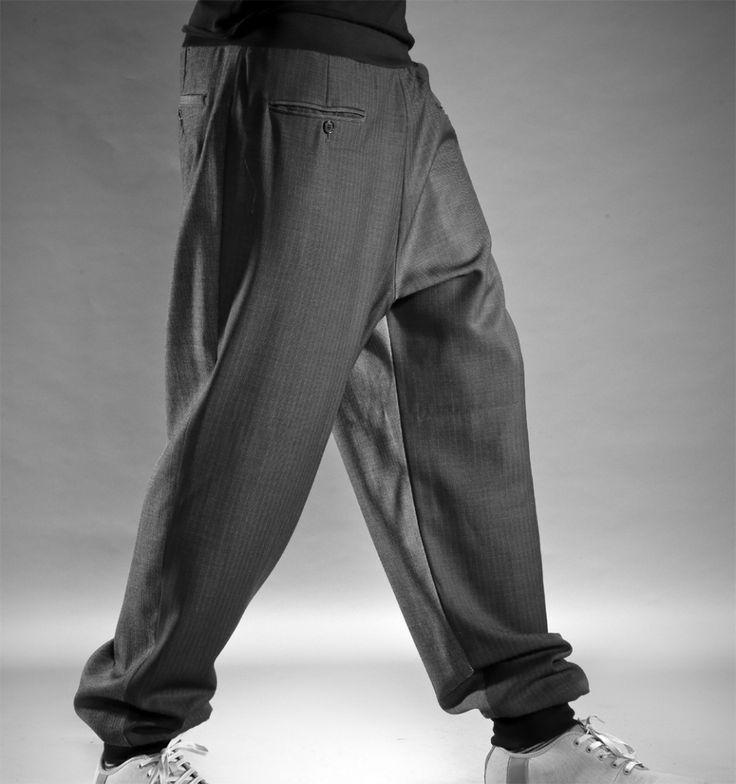 переделка брюк от костюма