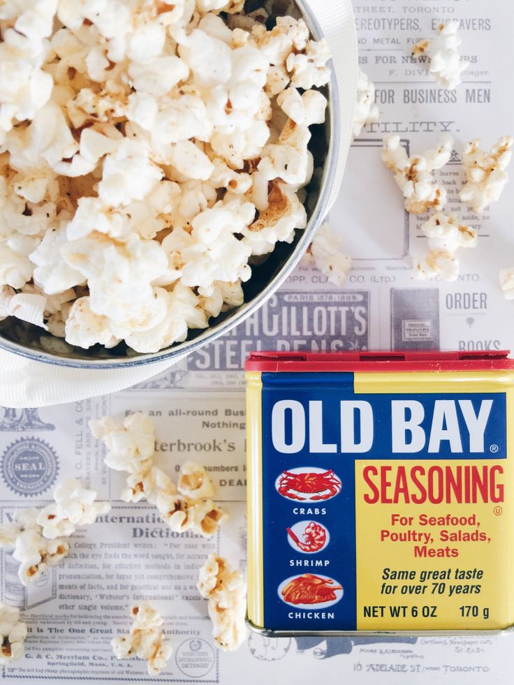 Old Bay Popcorn- Popcorn Thursday #3   Eclectic Yellow House