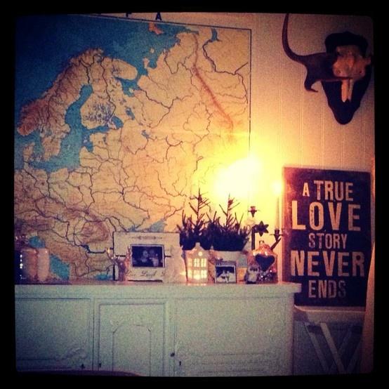 My living room..