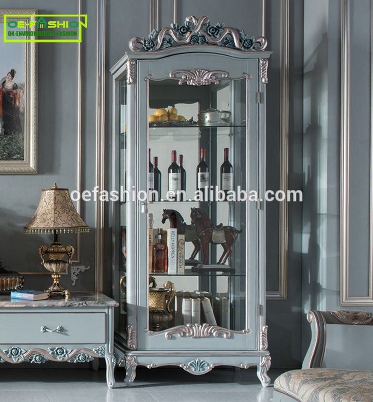 Antique French retro living room Houseware Wooden Wine Cabinet with glass, View Wooden Wine Cabinet, OE-FASHION Product Details from Foshan Oe-Fashion Furniture Co., Ltd. on Alibaba.com