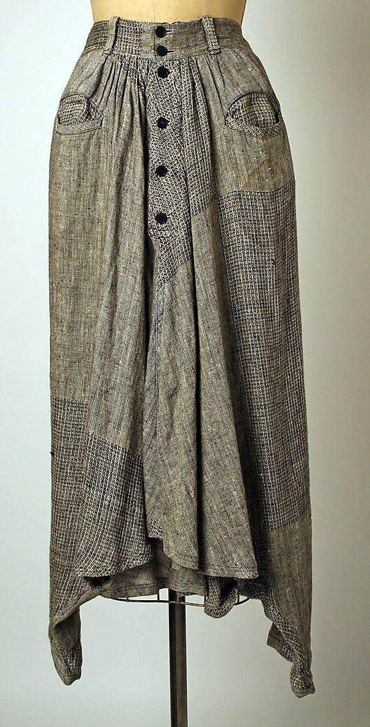The Metropolitan Museum of Art - Trousers yohji Yamamoto 1984