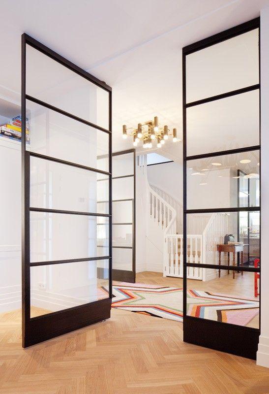 Schitterende deuren voor in het huis, zou mooi zijn als ze hetzelfde zijn als de openslaande tuindeuren. Taatsdeuren