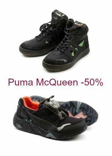 #puma #alexandermcqueen -50%. www.letuescarpe.com
