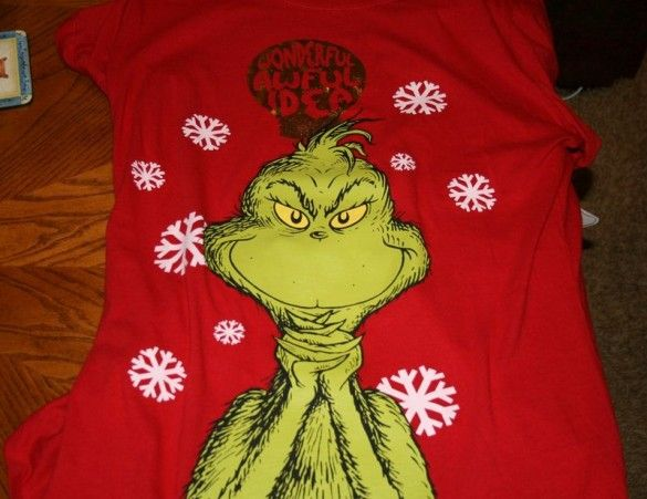 15 T-shirts designs with The Grinch, That Stole Christmas - fancy-tshirts.com