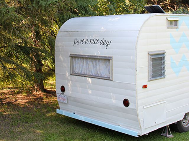 What a transformation! Vintage Camping Trailer Remodel - Hometalk Decorating Ideas - Country Living