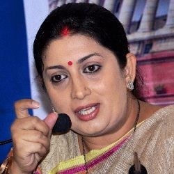 Smriti Irani (Indian, Politician) was born on 23-03-1976. Get more info like birth place, age, birth sign, bio, family & relation etc.