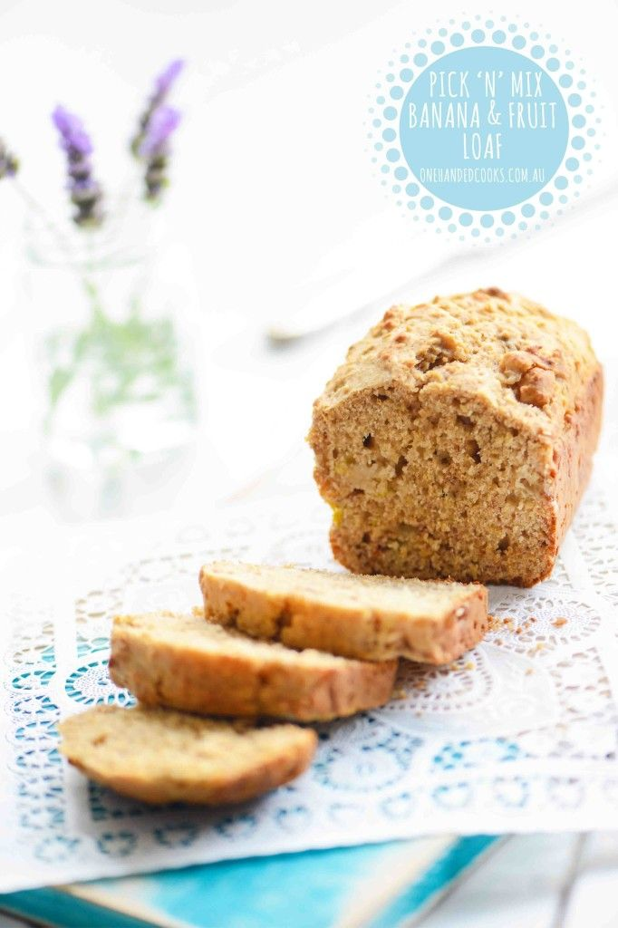 Pick 'N' Mix Banana & Fruit Loaf So many cafe style banana breads are full of butter and sugar, and sliced so thickly that they are hardly a healthy option. Baking your own is so simple and when using the right ingredients, much healthier. It's also a cheaper alternative and uses any overripe bananas that …