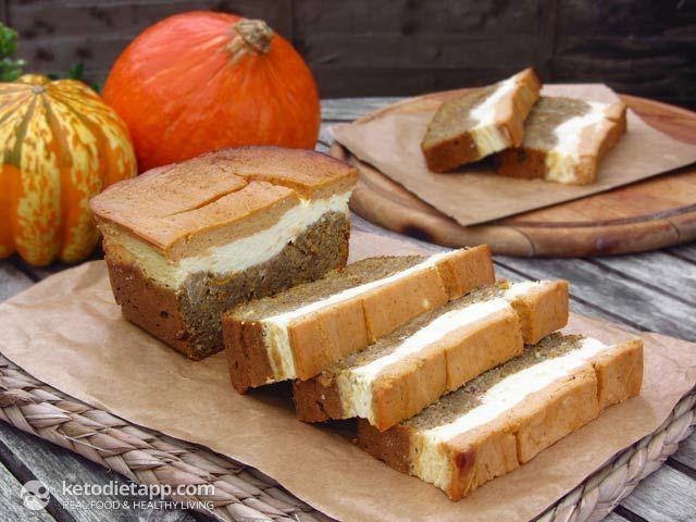Keto Diet Cheesecake Recipe: Pumpkin & Orange Cheese Bread #keto