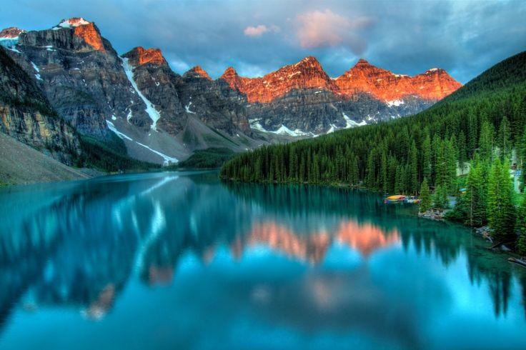 Lake Alberta - Canada - MindenegybenBlog