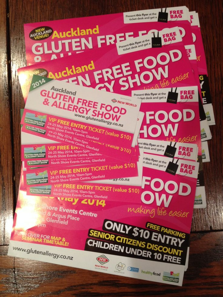 Free double passes and bags to the Gluten Free Food And Allergy Show in Auckland, May 24, 25 2014.