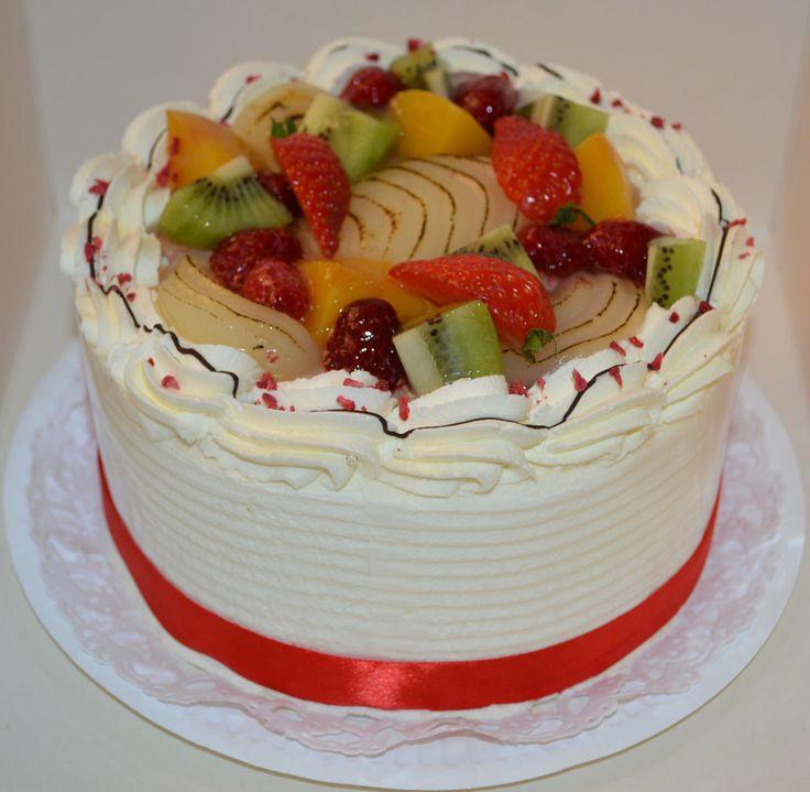 Fresh fruit and cream