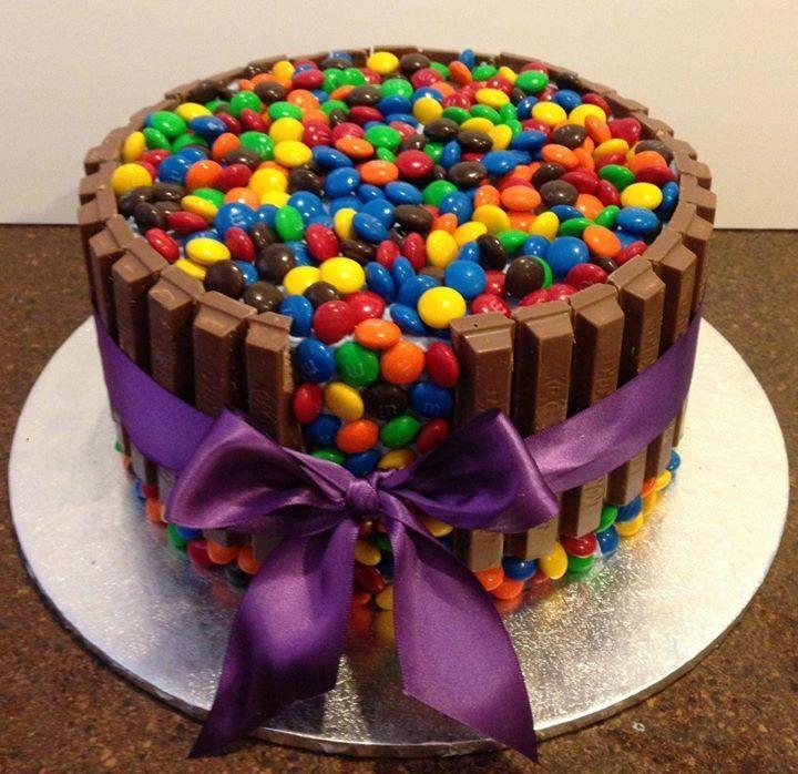 M M Birthday Cake
