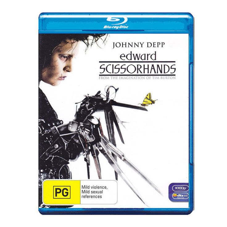 Edward Scissorhands (Blu-ray) - Johnny Depp