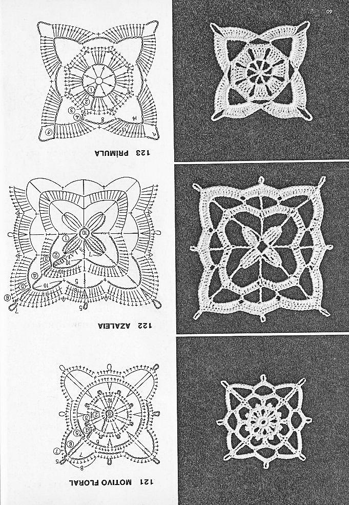 Coisas da Léia - Resgate de boas sensações: Quadrados de Crochê (Square)