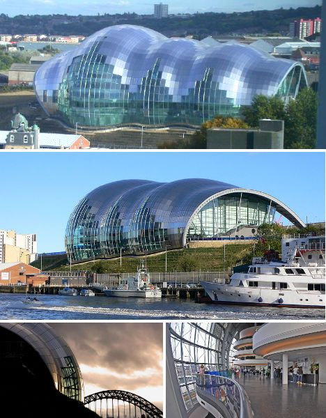 The Sage Gateshead Music & Art Gallery, Tyne & Wear, by Foster + Partners