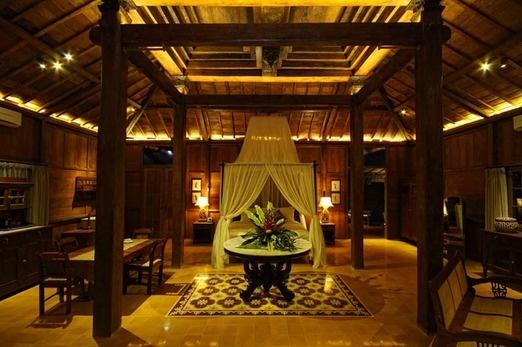 Villa Joglo at the D'jadul Village & Resort. Photo courtesy of D'jadul Village & Resort