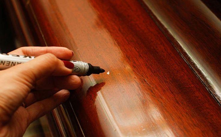Царапины на мебели: 9 способов устранения — Полезные советы