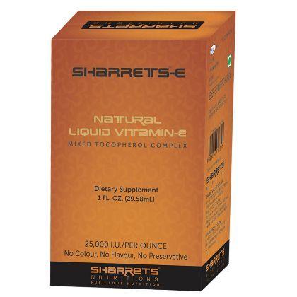 100% Natural Mixed Tocopherols (Liquid Vitamin E)  No Chemicals , No Flavor , No Colour , No Preservatives - Buy Online India at sharrets.com