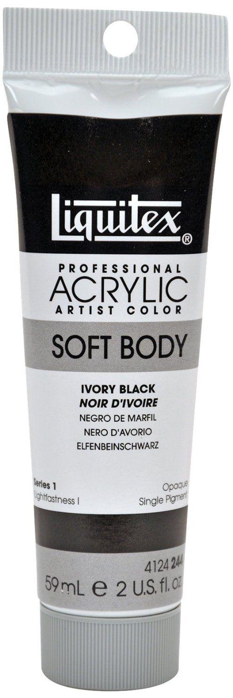 Liquitex Professional Soft Body Acrylic Paint 59 ml tube - Ivory Black: Since developing the first… #UKOnlineShopping #UKShopping #Shopping