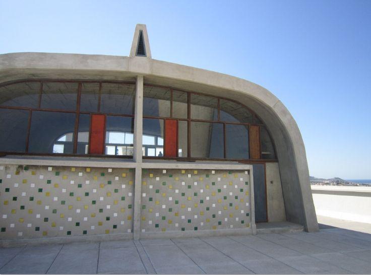 La Cité Radieuse de Le Corbusier à Marseille