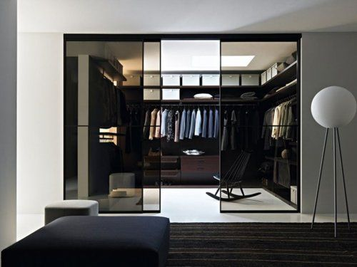 Walk in wardrobe / closet #menswear #style http://bit.ly/IcnbPE
