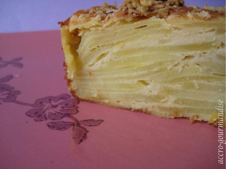 Gâteau Invisible de Pommes de Terre : Recette Plume