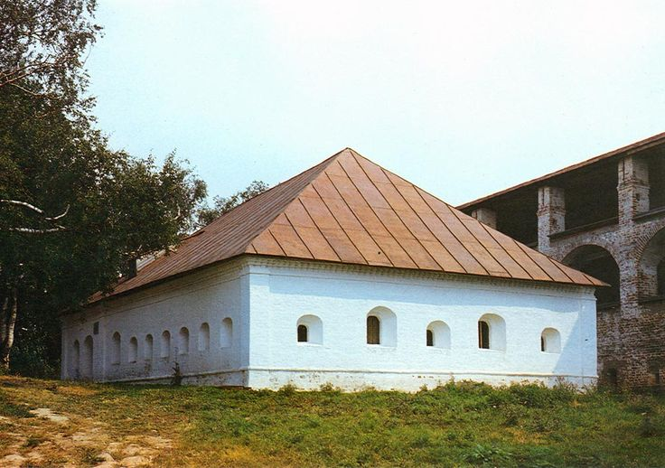 Малая больничная палата. 1730-е годы
