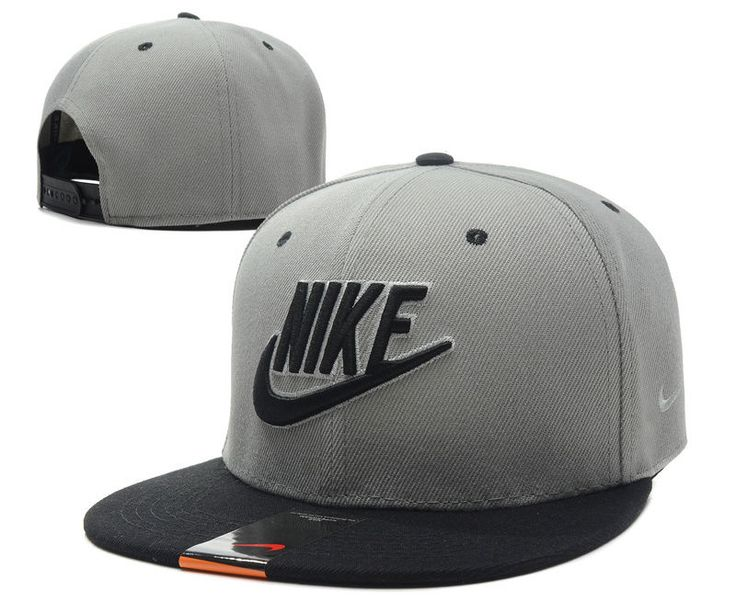 New Fashion gray bboy brim adjustable baseball cap snapback hip-hop hat  3c5d45b54f4