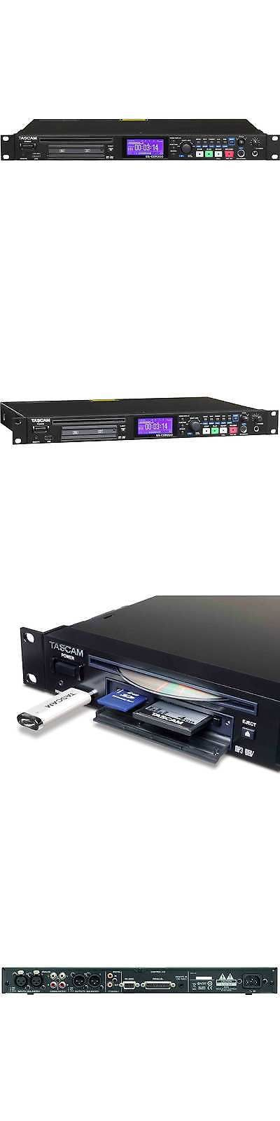 CD Players and Recorders: Tascam Audio Recorder For Solid State Cds - Ss-Cdr200 -> BUY IT NOW ONLY: $849.99 on eBay!