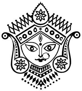Craft For The Crafty Part 2: Maa Durga-For painting