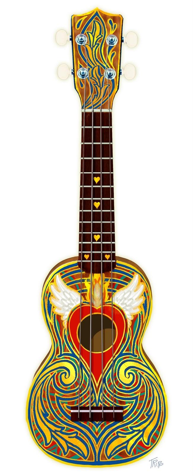 Far out . . . ukulele.